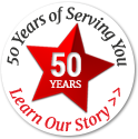50 Years of Service